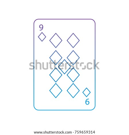 nine of diamonds or tiles