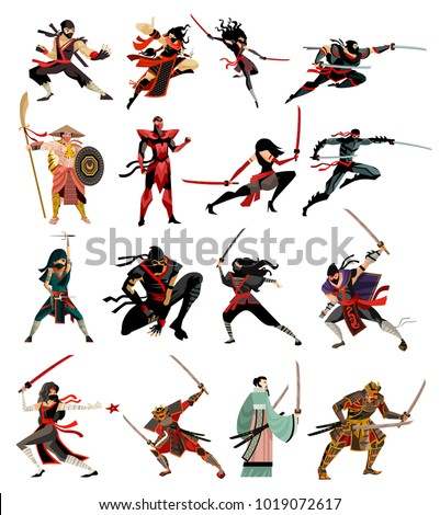 ninja and samurai collection