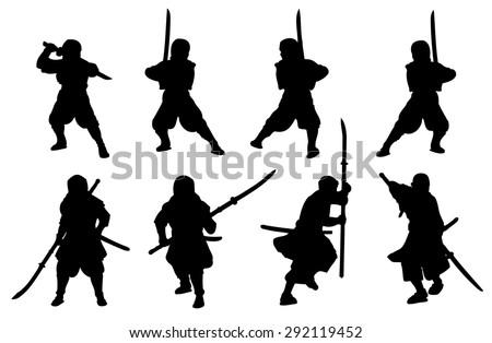 ninja and samurai naginata