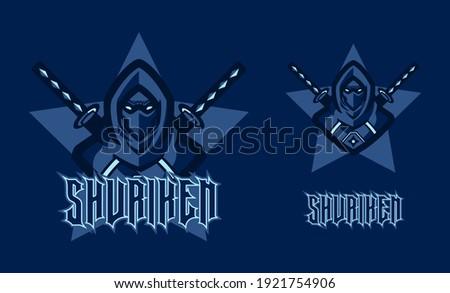 ninja assassin mascot logo game