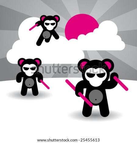 ninja bears