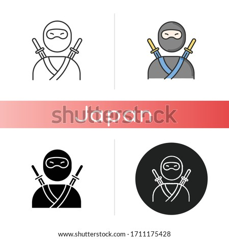 ninja icon traditional