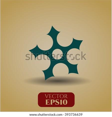 ninja star high quality icon