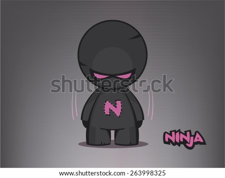 ninja vector illustration