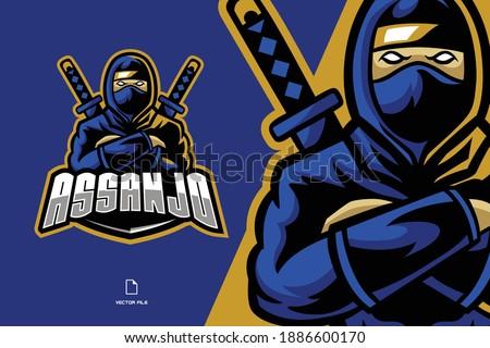 ninja with two katana sword