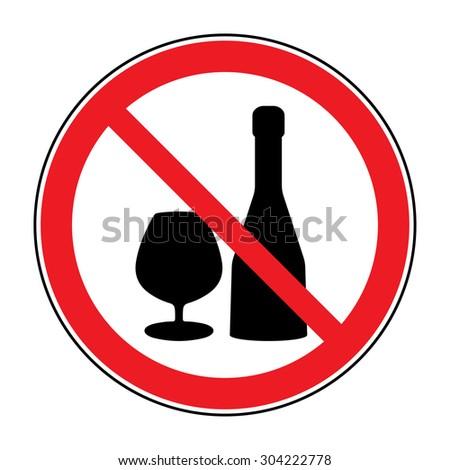 no alcohol drinks icon