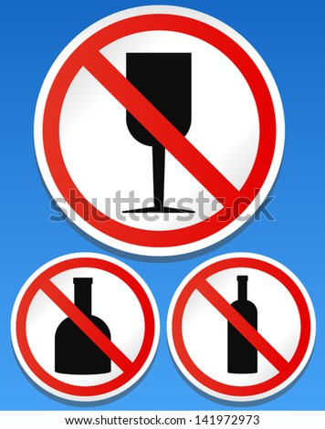 no alcohol sign   no drinking