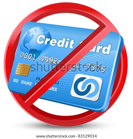 credit card with no credit and no bank account