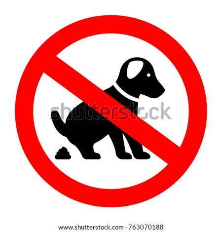 Dog Pooing Symbol High Resolution Free