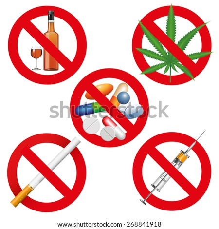 no drugs  smoking and alcohol