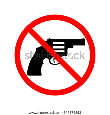 no guns  weapons sign