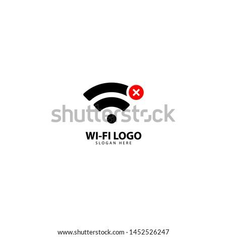 no internet connection logo design