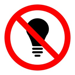 No light icon great for any use. Vector EPS10.