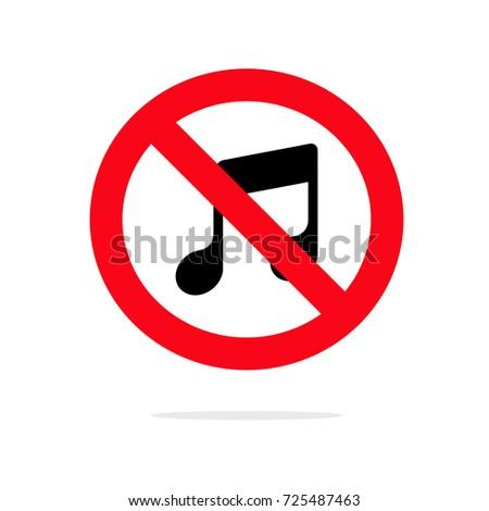 no music icon loud music