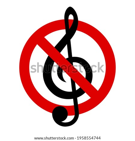 no music keep quiet treble