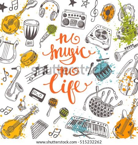 no music no life festival card