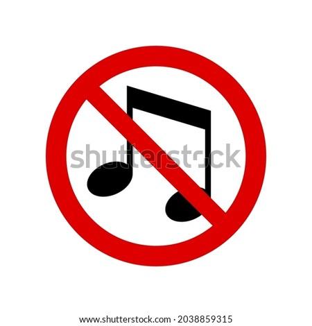 no music  noise prohibition