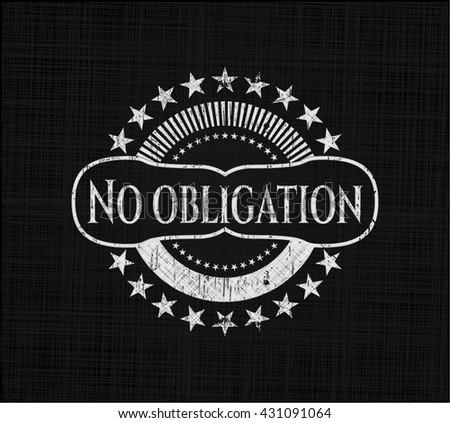 No obligation on blackboard