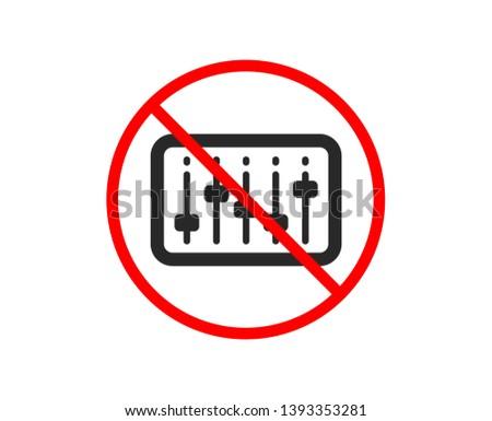 no or stop dj controller icon