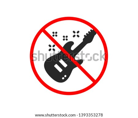 no or stop electric guitar