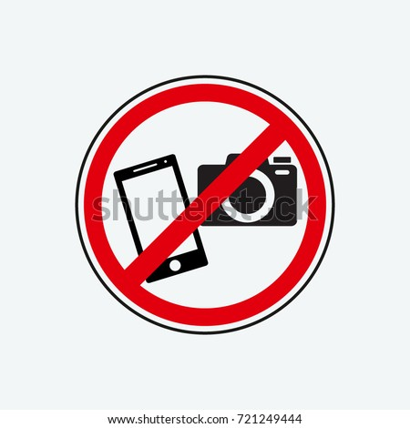 no photo icon vector