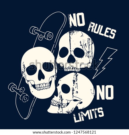 no rules no limits typography