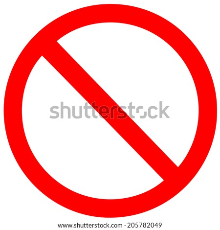 no sign vector on white