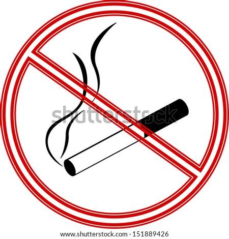 no smoke symbol