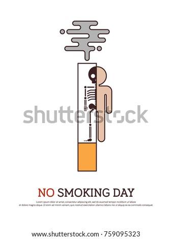 no smoking and anti tobacco