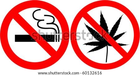 no smoking and no cannabis