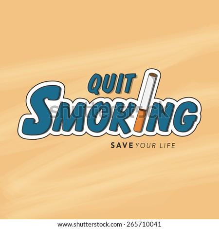 no smoking day poster  banner