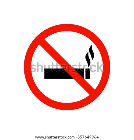 no smoking prohibiting sign