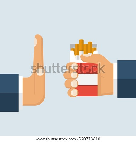 no smoking reject cigarette