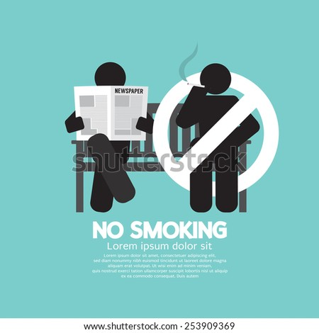 no smoking sign at public place