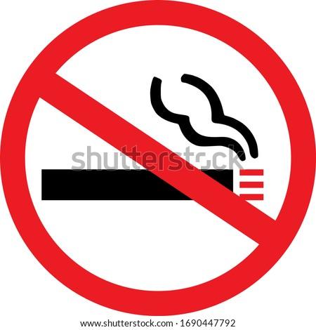 no smoking sign health care