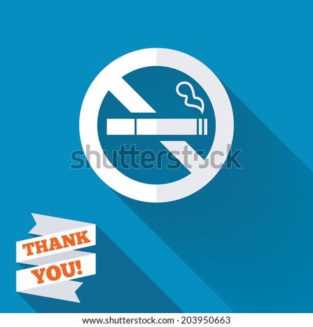 no smoking sign icon quit