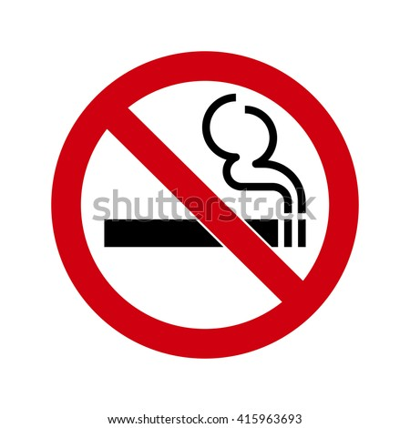 Shutterstock No smoking Sign isolated on white background. No smoke symbol for your web site design, app, UI. Vector illustration, EPS10.