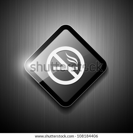 No smoking sign modern design. vector illustration