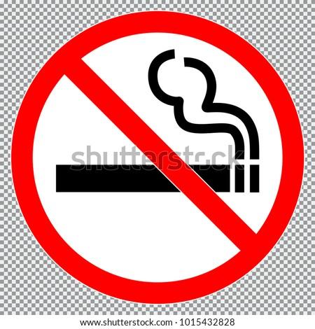 no smoking  sign or sticker