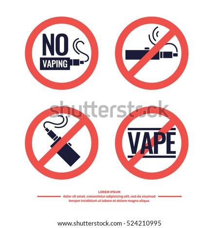 no smoking sign prohibiting