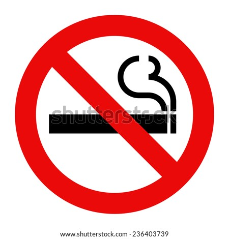 no smoking sign smoking