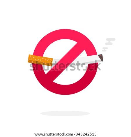no smoking sign  vector symbol