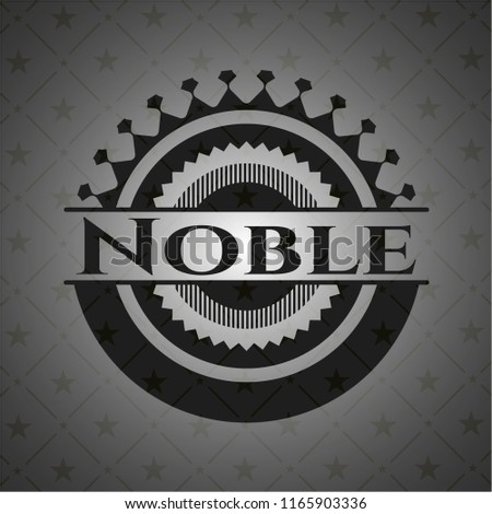 Noble black emblem