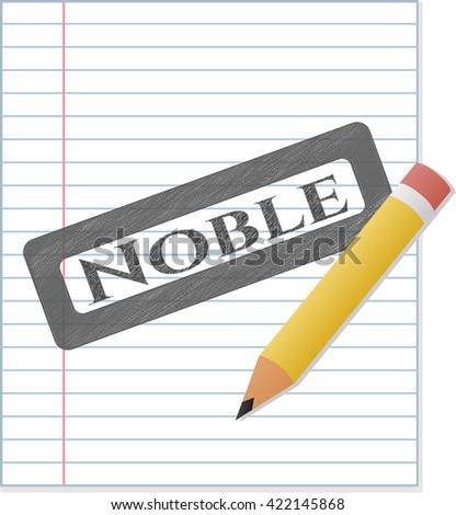 Noble pencil effect