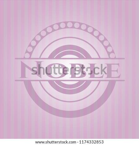 Noble pink emblem