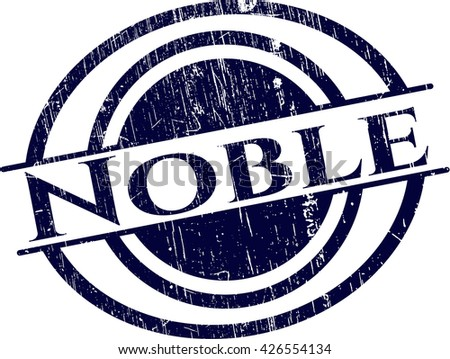 Noble rubber grunge texture stamp