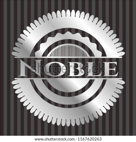 Noble silver badge