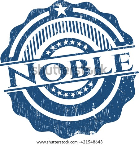 Noble with rubber seal texture