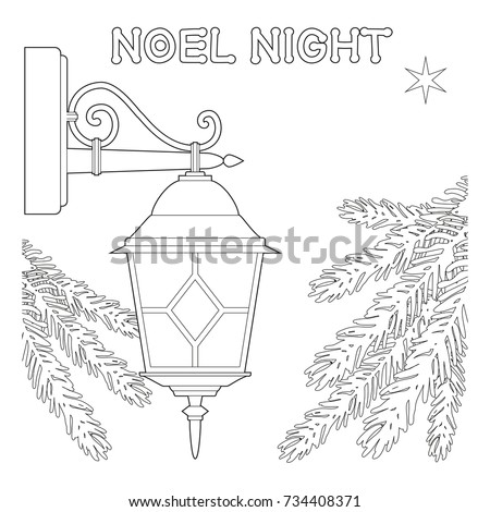 noel night black and white