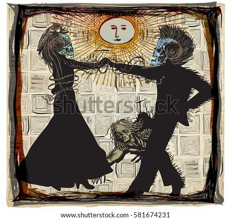 noon dancers  voodoo night   an